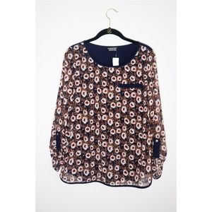 Papermoon   Froome Faux Pocket Floral Print Blouse